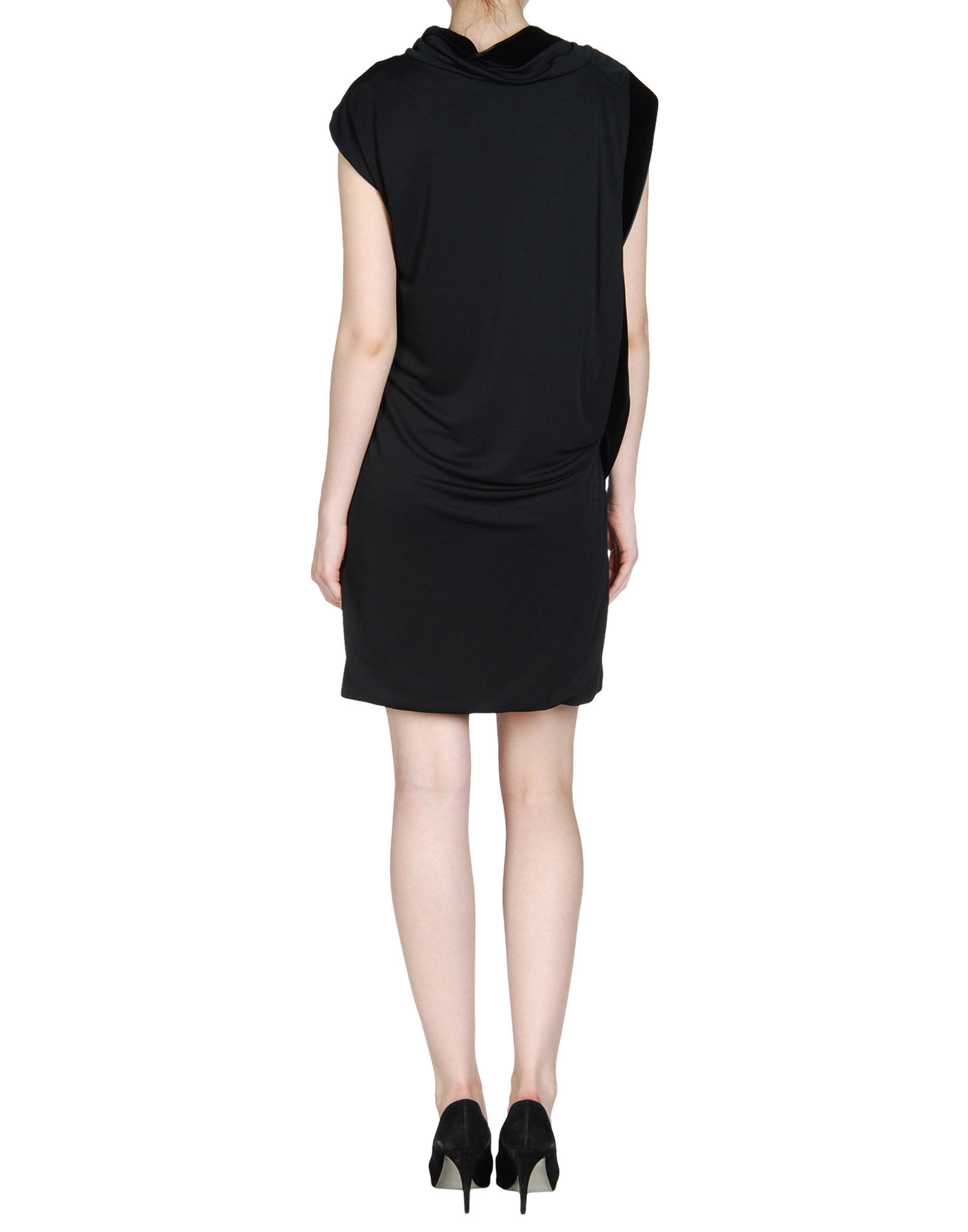 gucci short dress in black lyst