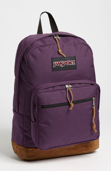 Jansport Right Backpack in Purple for Men (purple rumba ...