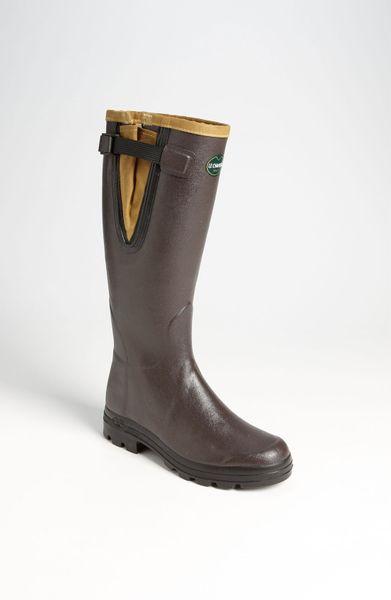 Le Chameau Filson Vierzon Rain Boot In Brown For Men Lyst