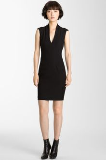 Helmut Lang Pixel Seamed Dress - Lyst
