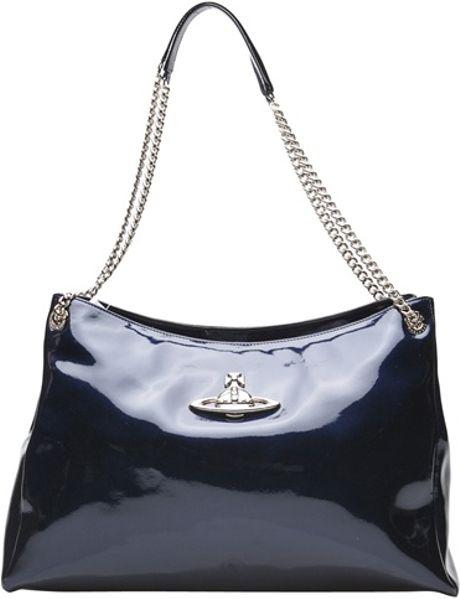 Vivienne Westwood Apollo Shopper Bag in Blue