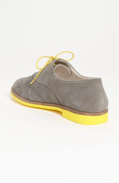 Bp Mayfield Oxford in Yellow (grey/ yellow) - Lyst