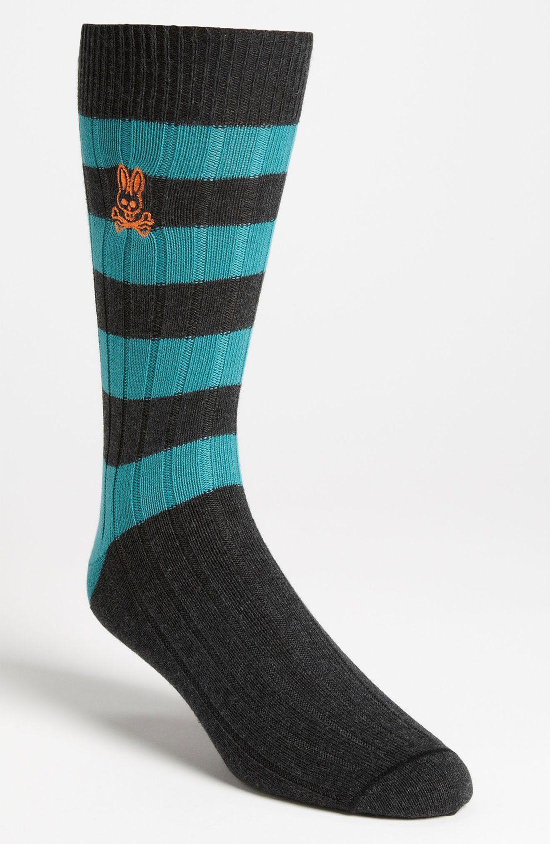 sock bunny stripe psycho bunny rugby stripe sock in blue for turquoise
