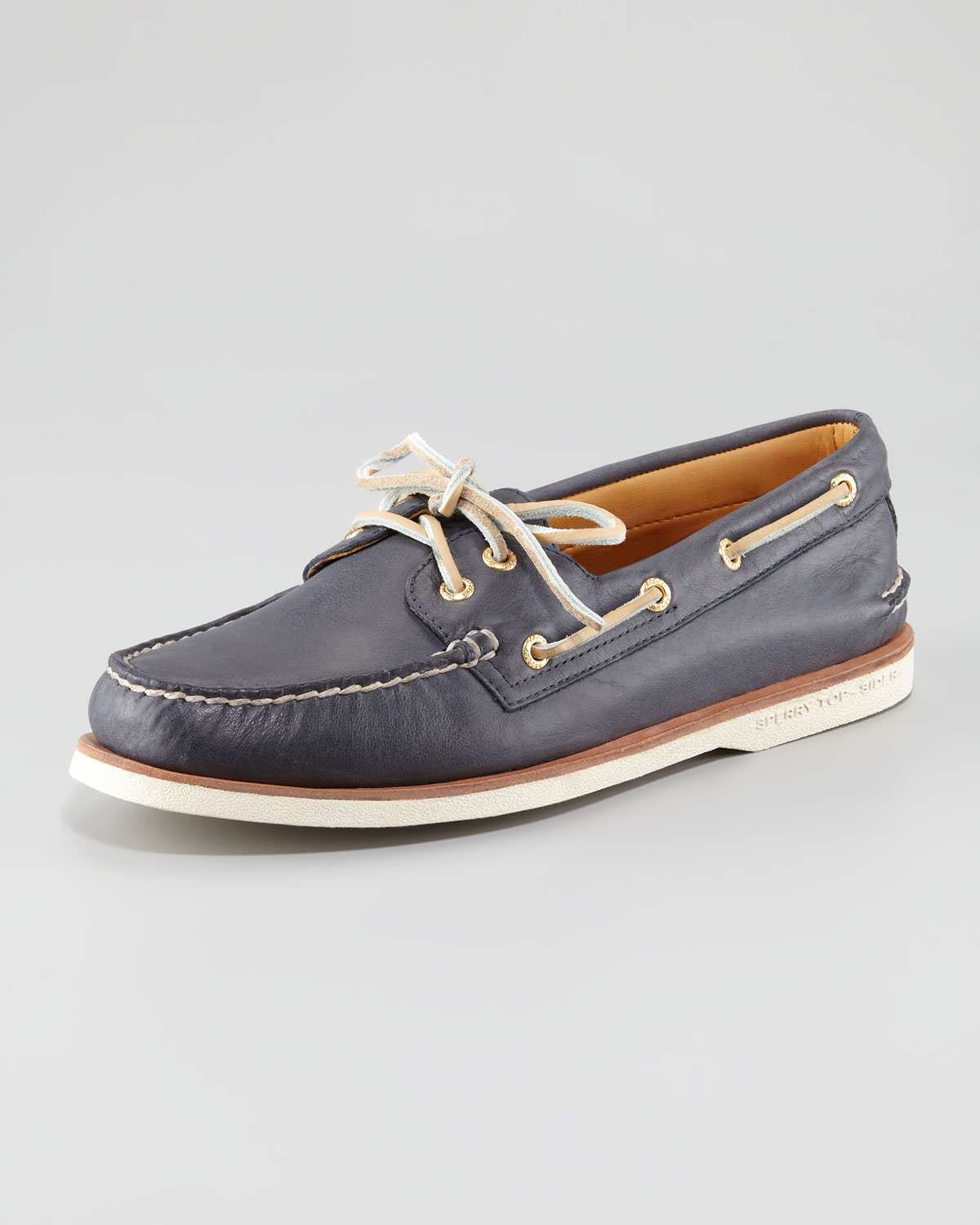 6a30339708 Lyst - Sperry Top-Sider Gold Cup Authentic Original Boat Shoe in ...