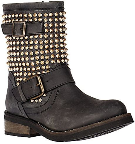 Steve Madden Monicaa in Black (black gold)