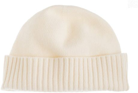 J.crew Cashmere Hat in White (snow)
