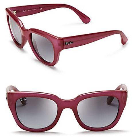 ray ban cat eye wayfarer sunglasses in purple amaranth. Black Bedroom Furniture Sets. Home Design Ideas