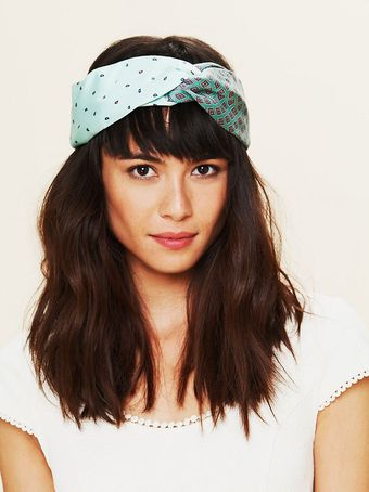 Free People Vintage Tie Turban - Lyst