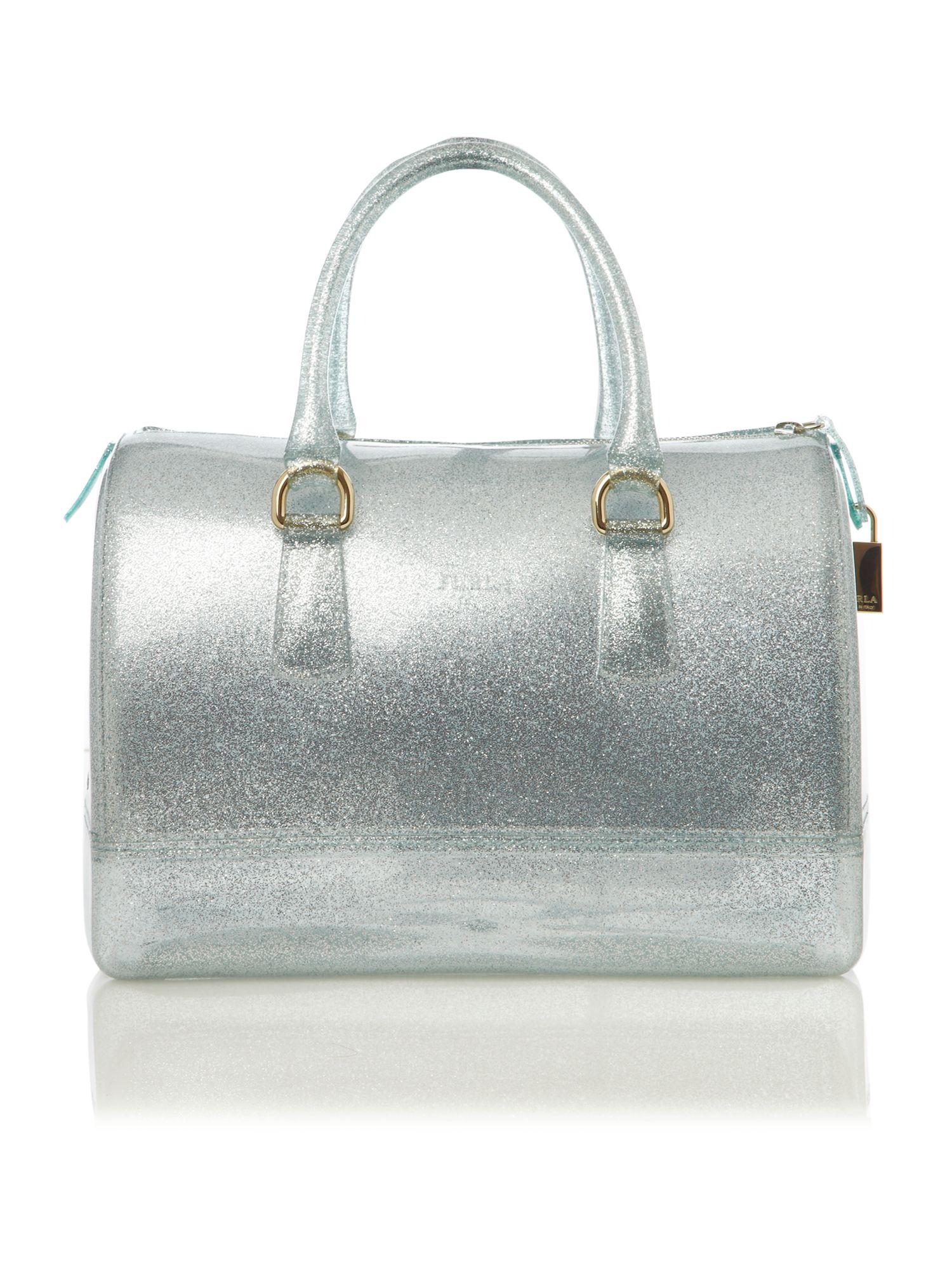 Furla Candy Glitter Bowling Bag in Metallic - Lyst 9a1013320610