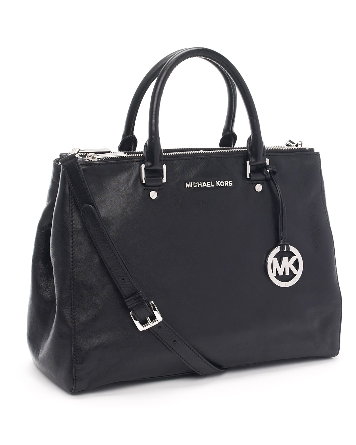 14de5d60a433b7 MICHAEL Michael Kors Large Bedford Dressy Tote in Black - Lyst