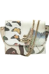Vivienne Westwood Butterfly Shoulder Bag