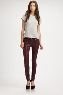 7 For All Mankind Highshine Gummy Skinny Jeans - Lyst