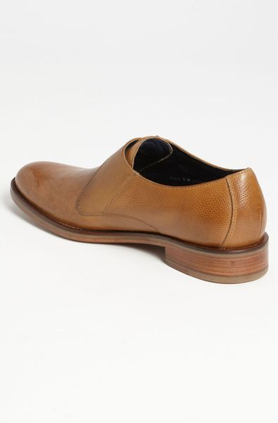 Cole Haan Air Madison Monk Strap Shoe in Brown for Men (cuoio brown