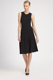 Donna Karan New York Paneled Dress - Lyst