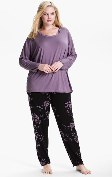 Midnight By Carole Hochman Modern Comfort Pajamas in ...