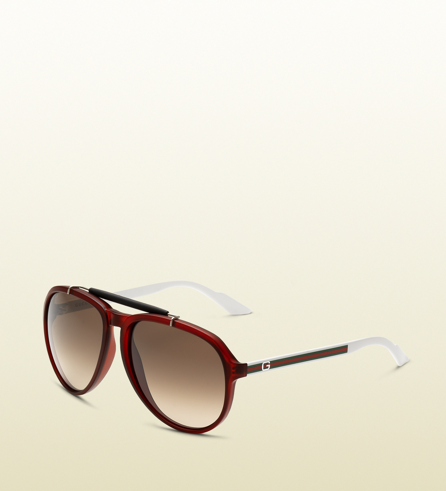 bd9c88519cc Lyst - Gucci Mens Red Biobased Sunglasses in Red for Men