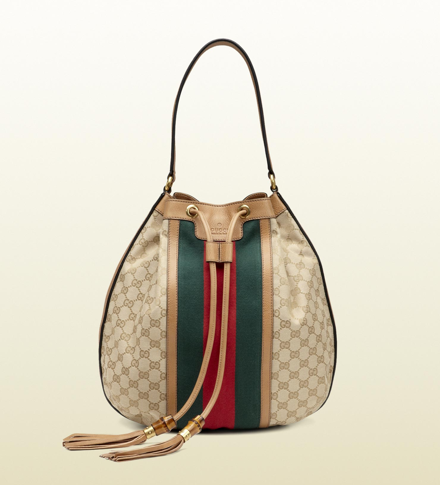Gucci Rania Drawstring Shoulder Bag 65