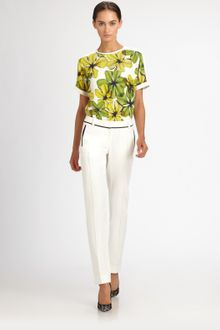 Jason Wu Printed Top - Lyst