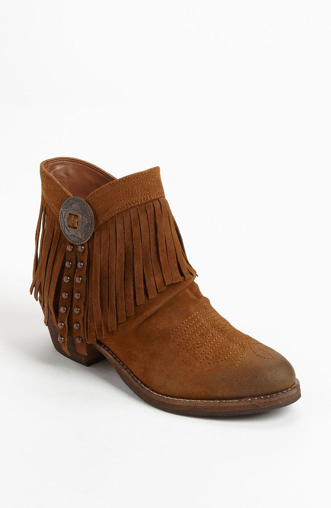 sam edelman sidney boot in brown whiskey lyst