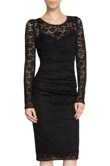 Black Long Sleeve Lace Dress on Dolce   Gabbana Black Long Sleeve Lace Dress