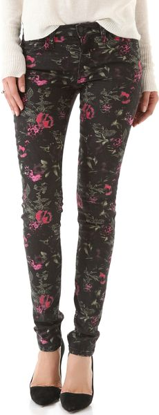 Joe's Jeans The Skinny Electric Floral Jeans - Lyst