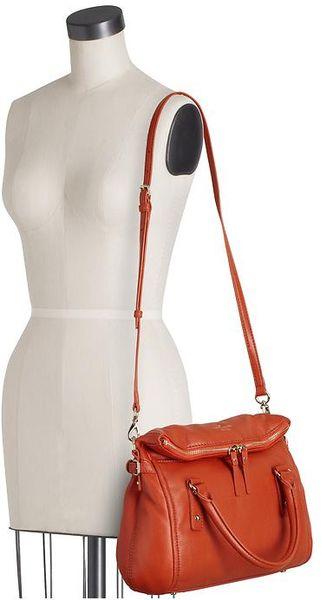 Kate Spade Cobble Hill Little Leslie Tangerino Orange Satchel Bag