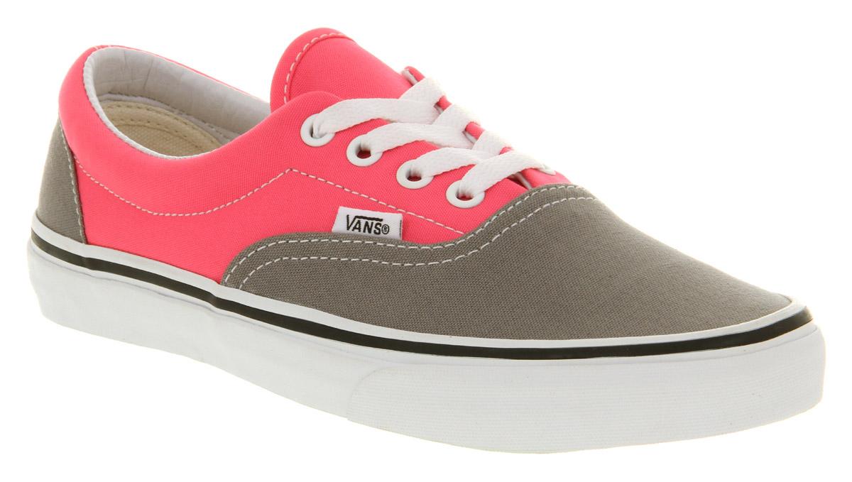 d5d0a66728b6 Lyst - Vans Era Frost Grey Neon Pink in Pink for Men
