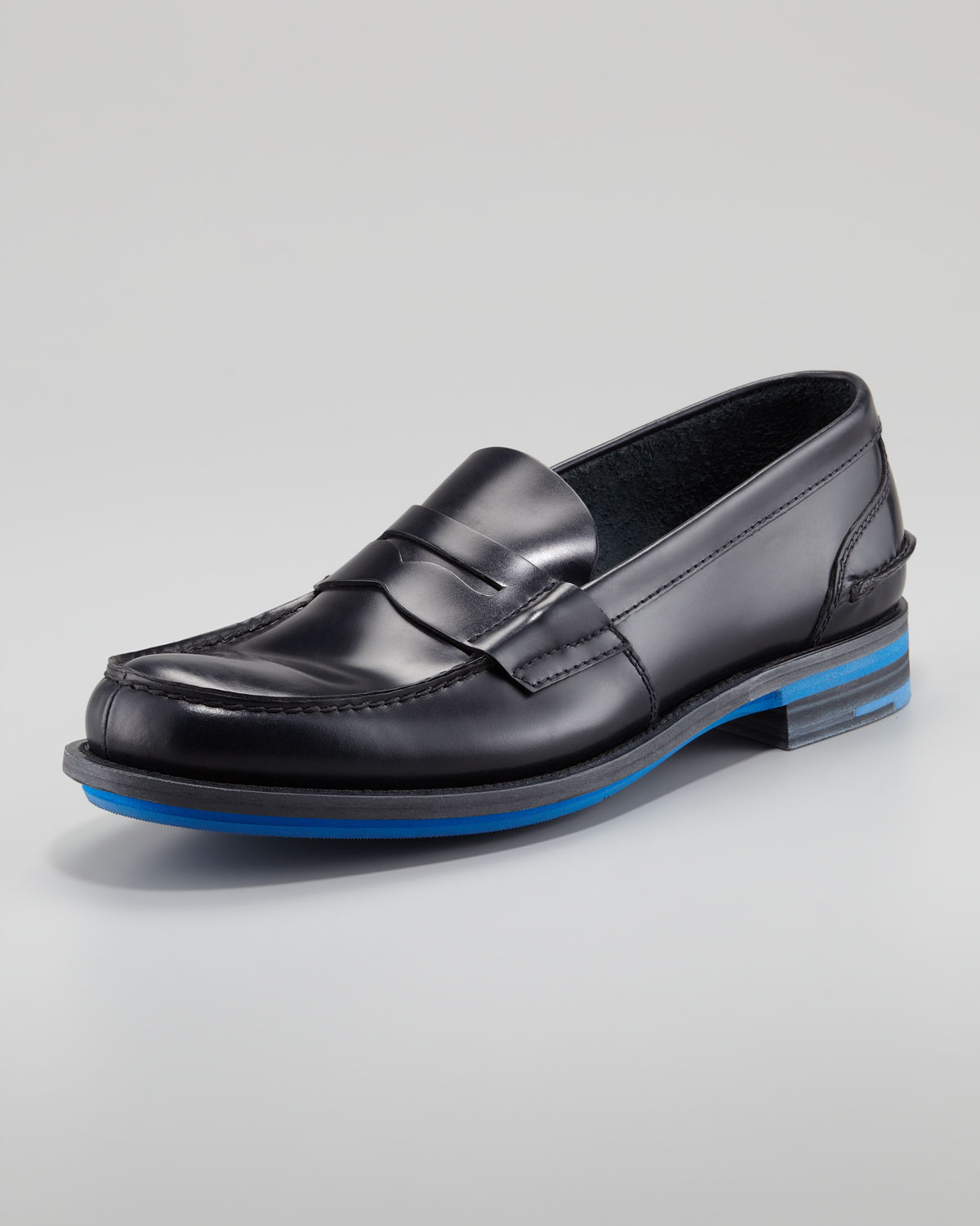 60e7a8b0b2a Gallery. Previously sold at  Neiman Marcus · Men s Penny Loafers ...