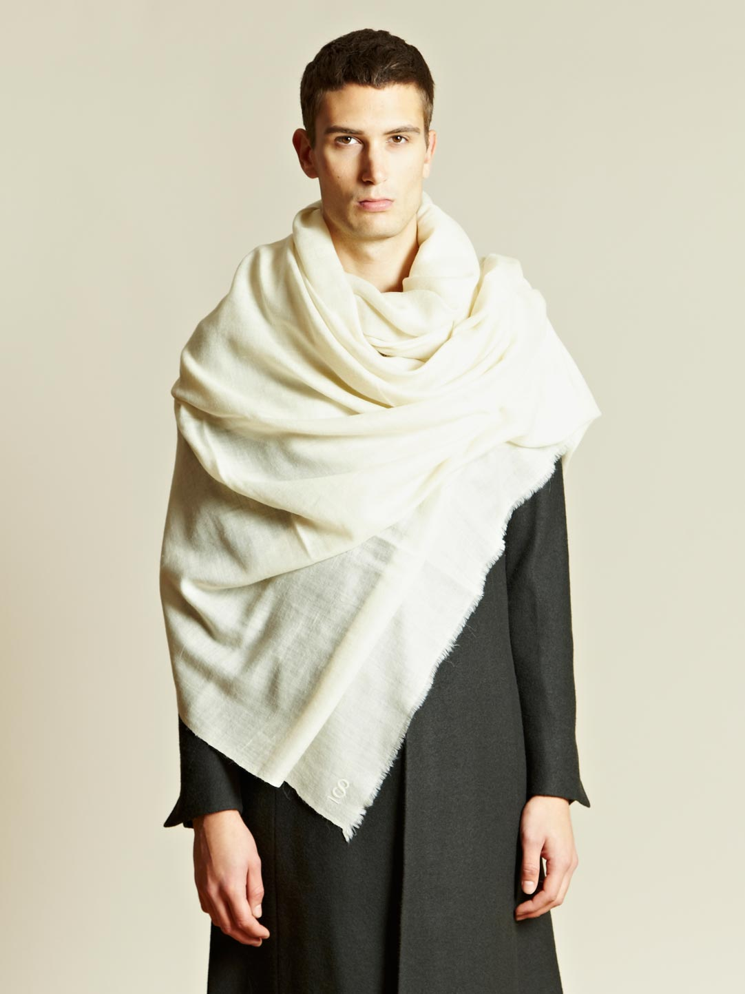 Scarfs Men Scarf And Casual On Pinterest Nice Scarves: Thamanyah Thamanyah Mens Oversized Cashmere Scarf