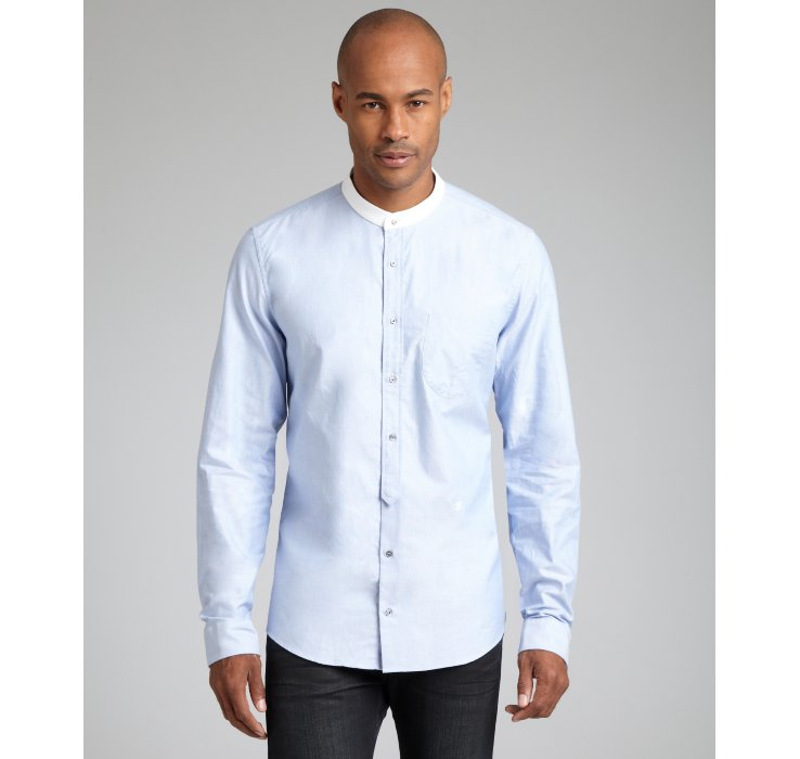 A Nehru shirt is also known as a no collar shirt or a mandarin collar shirt in many cases. These shirts are great to be worn as a formal wear and can also be worn as a casual wear as per requirement. These shirts are great to be worn as a formal wear and can also be worn as a casual wear as per requirement.