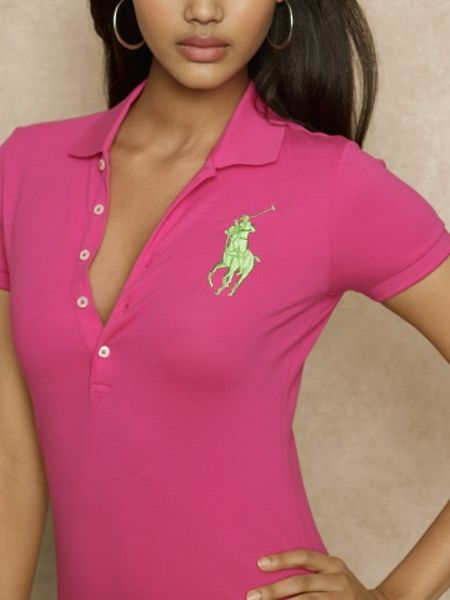 ralph lauren blue label big pony madeira pima polo in pink accent. Black Bedroom Furniture Sets. Home Design Ideas