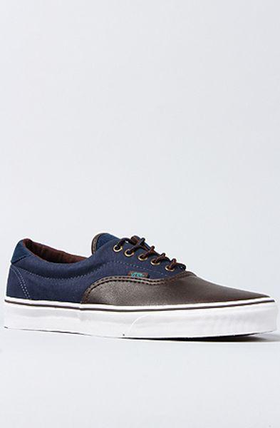 Vans The Era 59 Sneaker in Brown Dress Blues in Brown for Men - Lyst