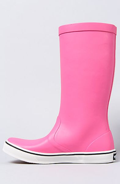 Vans The Rainfall Boot In Neon Pink In Pink Lyst