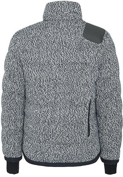 Moncler Barnes Knitted Bomber Jacket in Gray for Men Lyst
