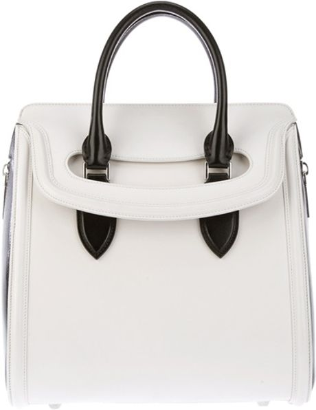 Alexander Mcqueen Tote Bag in White