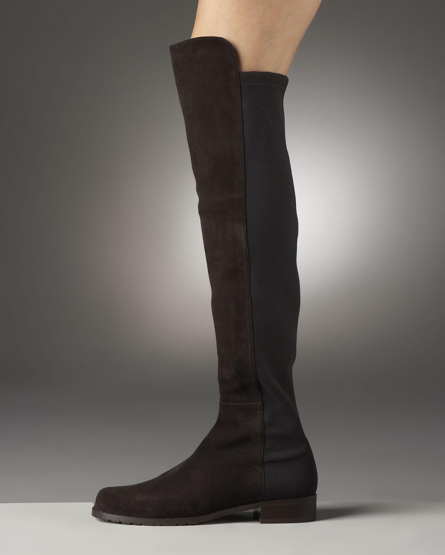 Stuart Weitzman Stuart Weitzman Womens  Brown Suede Boots