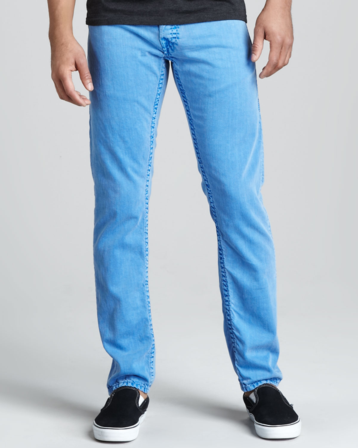 Lyst - True Religion Jack Overdyed PX Royal Blue Jeans In Blue For Men