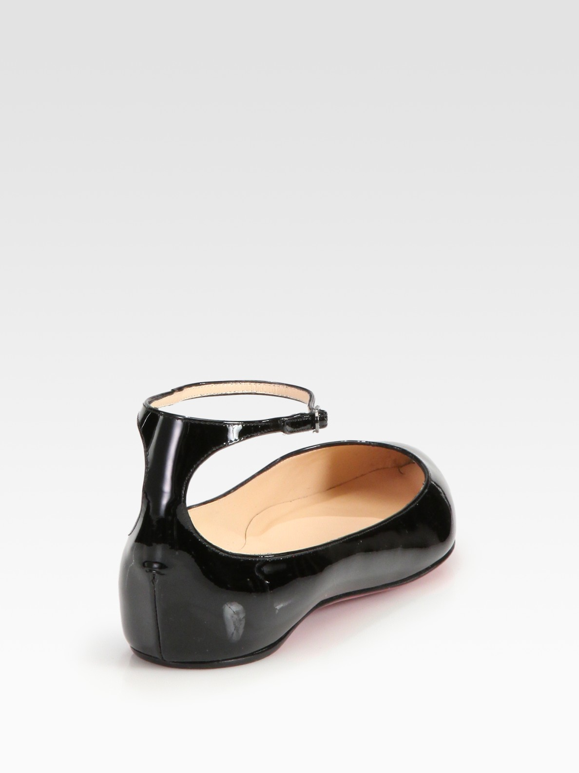 Lyst Christian Louboutin Mrs H Patent Leather Ankle