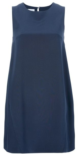 Gianluca Capannolo Sleeveless Shift Dress - Lyst