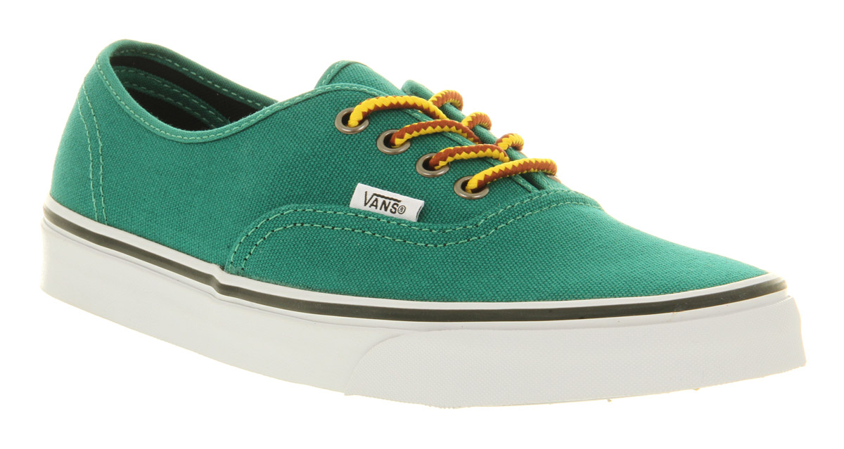 Lyst - Vans Authentic Verdant Green Canvas in Green for Men 0ac15e107e