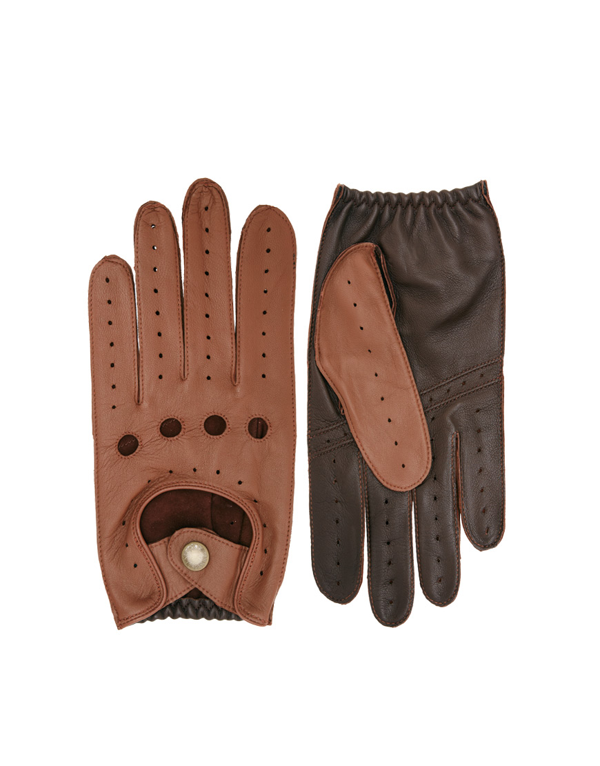 John varvatos leather driving gloves - Gallery Men S Leather Gloves Men S Driving Gloves