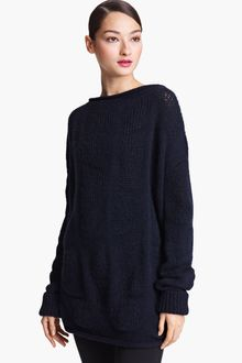 Donna Karan New York  Drop Stitch Sweater Tunic - Lyst