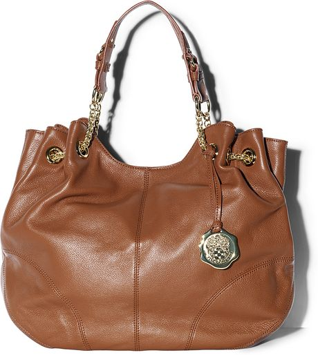 Vince Camuto Jack Drawstring Tote in Brown (limeade) - Lyst