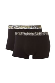 Calvin Klein Two Pack Animal Waistband Trunk Gift - Lyst