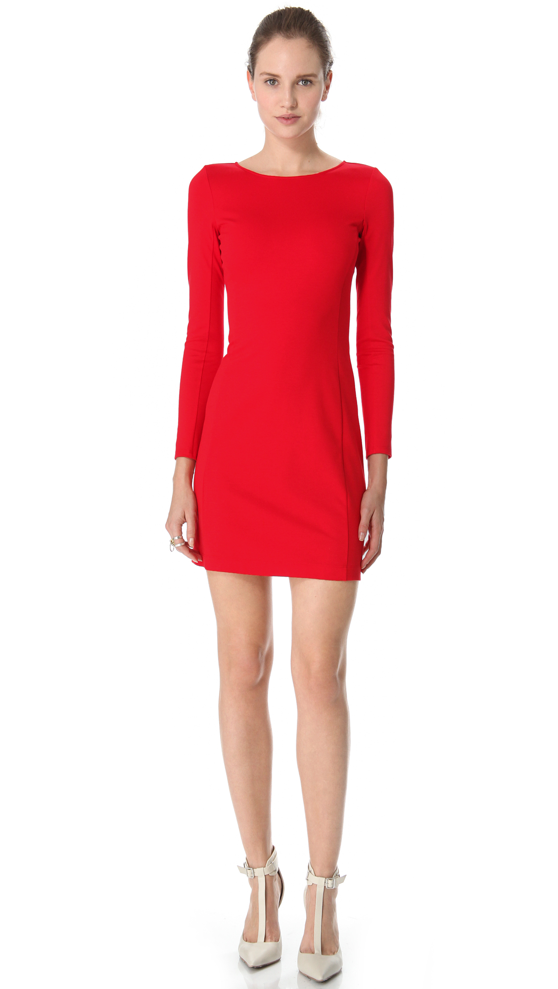Theory Dress Kalion Pryor in Red | Lyst