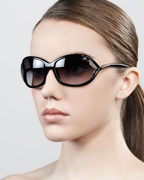 tom ford jennifer opentemple sunglasses blackgunmetal in black black. Cars Review. Best American Auto & Cars Review