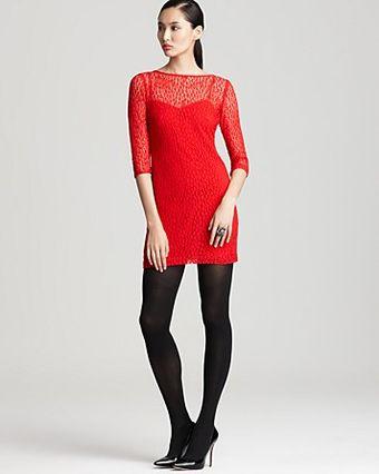 Trina Turk Dress on Trina Turk Dress Aint Misbehavin Two Lace   Lyst