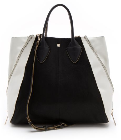 Pour La Victoire Yves Medium Tote in Black - Lyst