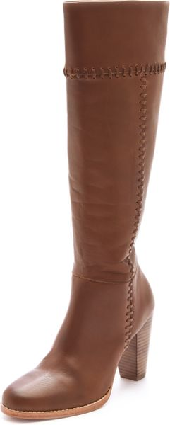 Joie Allman Boots in Brown (taupe)