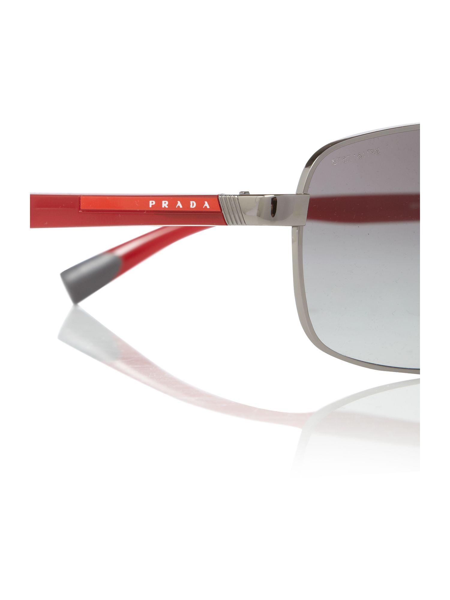 prada red line sunglasses